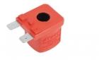 Электромагнитная катушка красная 12 V-DC 11 W