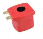 Электромагнитная катушка красная 12 V-DC 8 W